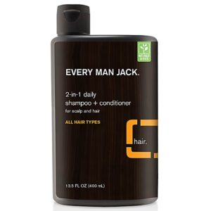 Every Man Jack 2-In-1 Daily Shampoo - Citrus