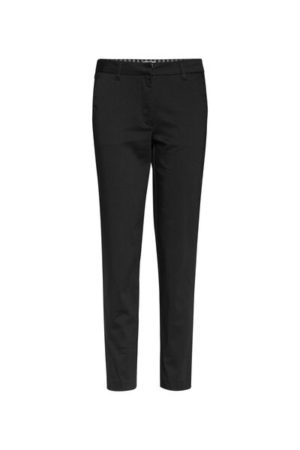 Dames slim fit high stretch cropped chino