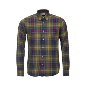 Barbour overhemd ruit multicolor