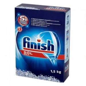 Finish 5 x Acties Zout - 1,5 kg
